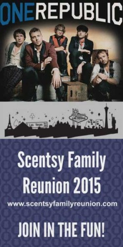 Join OneRepublic and Scentsy® in Las Vegas July 2015.