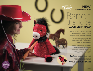 Scentsy® Buddy Bandit Horse