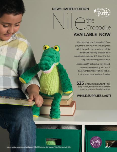 Scentsy® Buddy Nile the Crocodile