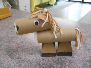 Homemade Horse Kid Craft