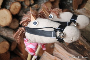 DIY Sock Stick Horse