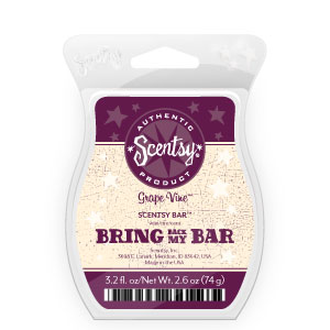 Grapevine Scentsy® Bar June 2015 Bring Back My Bar