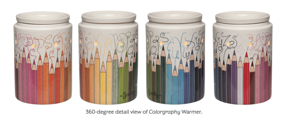 Colorgraphy Scentsy® Warmer 360-degree