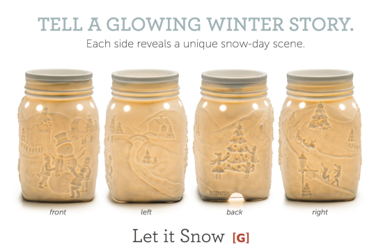 Scentsy® Snowman Mason Jar Warmer