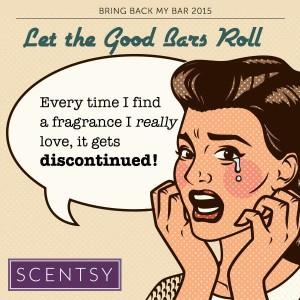 Scentsy® Bring Back My Bar Vote