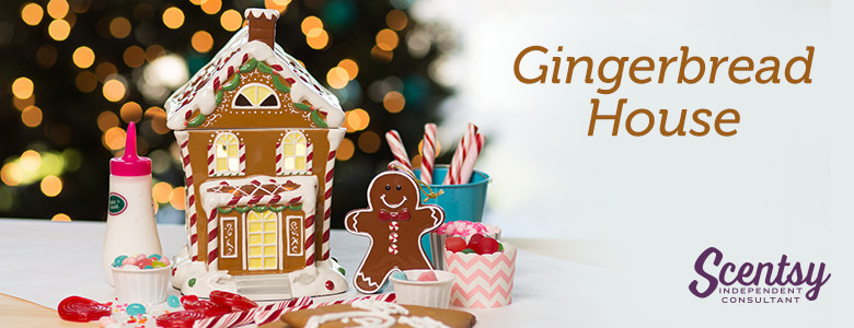 Scentsy® Limited Edition Gingerbread House Warmer