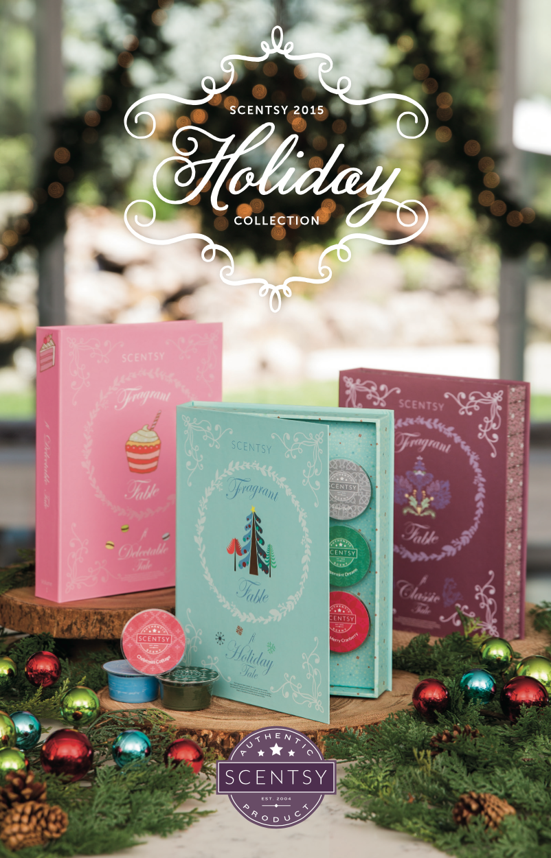 Scentsy® Holiday 2015 Gift Ideas