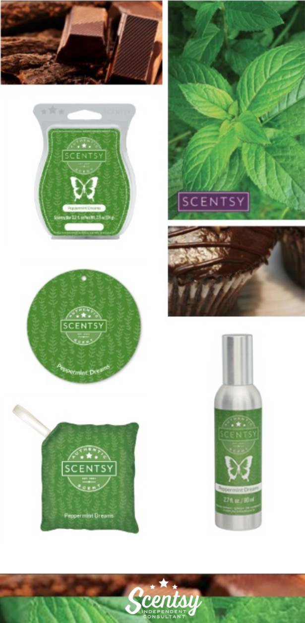 Scentsy® Peppermint Dreams Products