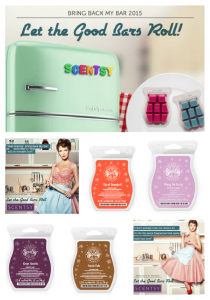 Scentsy® Bring Back my Bar January 2016