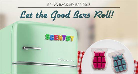 Scentsy® January Promotion Bring Back My Bar