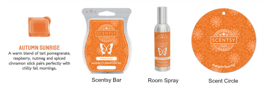 Autumn Sunrise Scentsy® Products Online