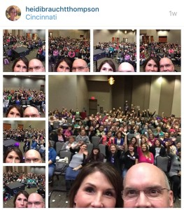 Orville and Heidi Thompson Scentsy Cincinnati World Tour 2016