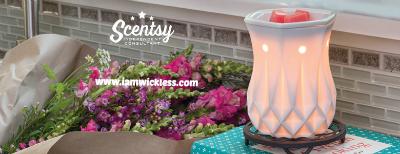 Alabaster Modern Scentsy® Warmer