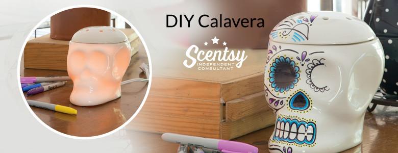 Modern DIY Calavera Art Scentsy® Warmer