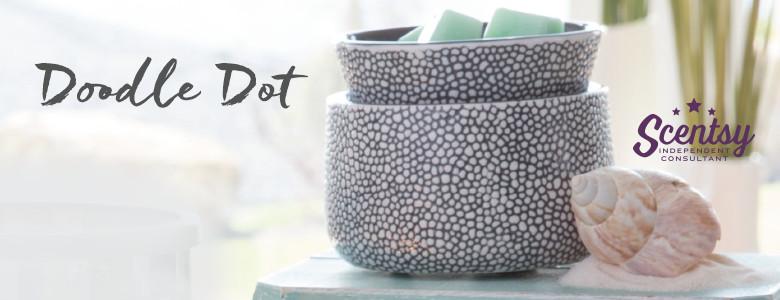Doodle Dot Modern Scentsy® Warmer