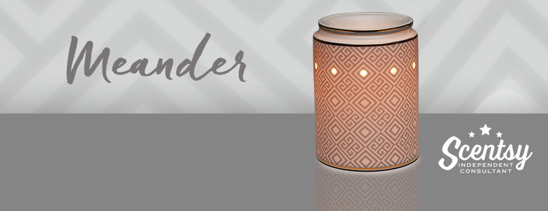 Meander Scentsy® Warmer Wickless Candle