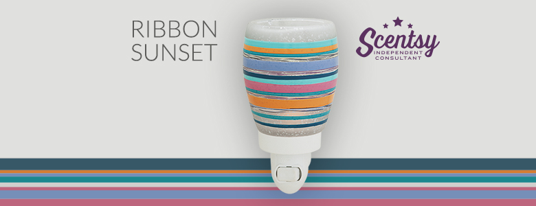 Ribbon Sunset Scentsy® Nightlight