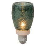 Vintage Glass Green Scentsy® Nightlight