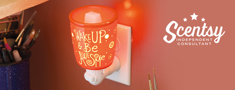 Wake Up Be Awesome Scentsy® Nightlight