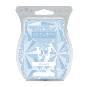 Clothesline Scentsy® Bar