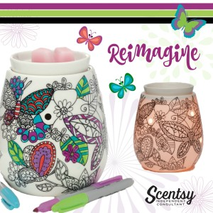 Reimagine Color Art Scentsy® Warmer