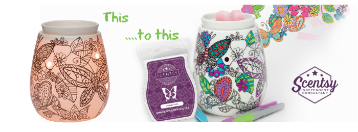 Reimagine Scentsy® Color Art Warmer