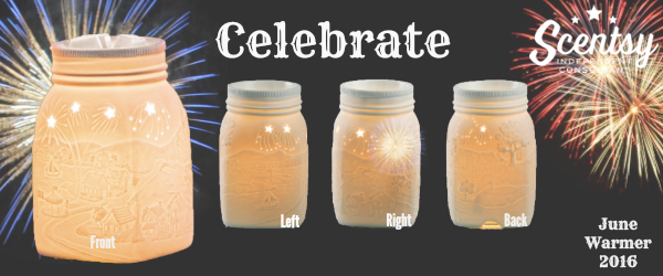 Celebrate June Scentsy® Warmer