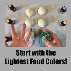 Easy Essential Oil Playdough Step 15