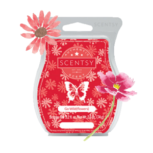 Go Wild(Flowers) Scentsy® Bar Online