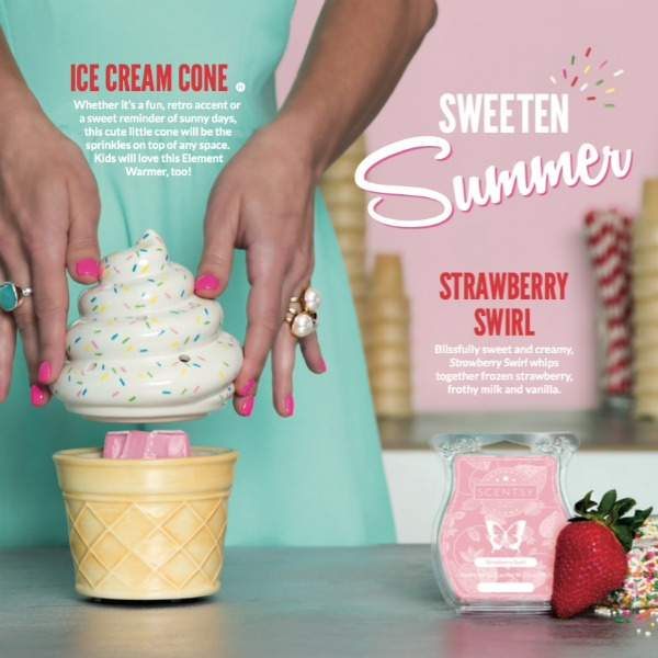 Ice Cream Cone Scentsy® Warmer Special