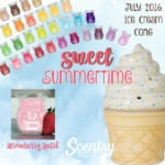 Ice Cream Cone Scentsy® Warmer Sweet Summertime