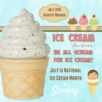 National Ice Cream Month July 2016