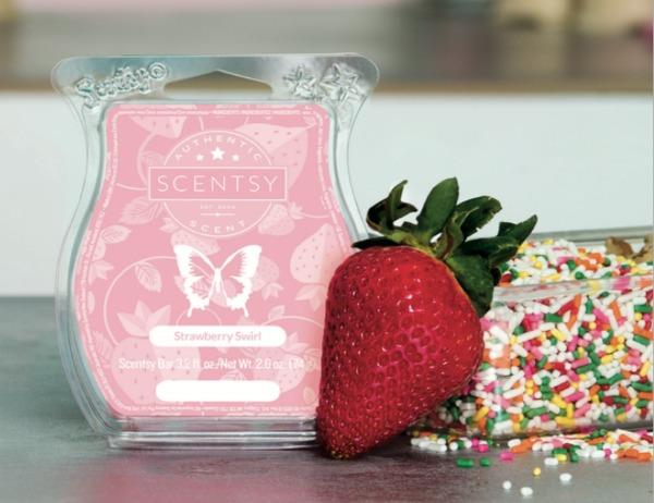 Strawberry Swirl Scentsy® Bar