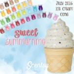 Sweet Summertime Ice Cream Cone Scentsy® Warmer