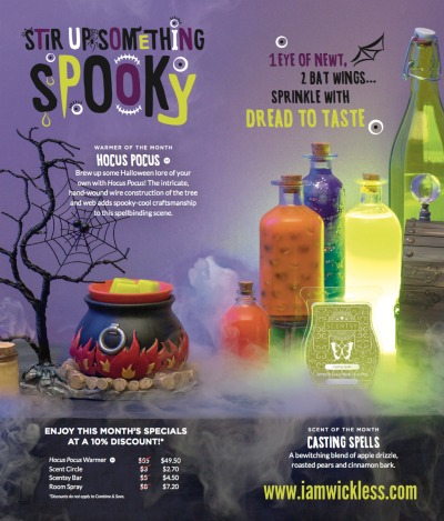 About Hocus Pocus Scentsy Warmer