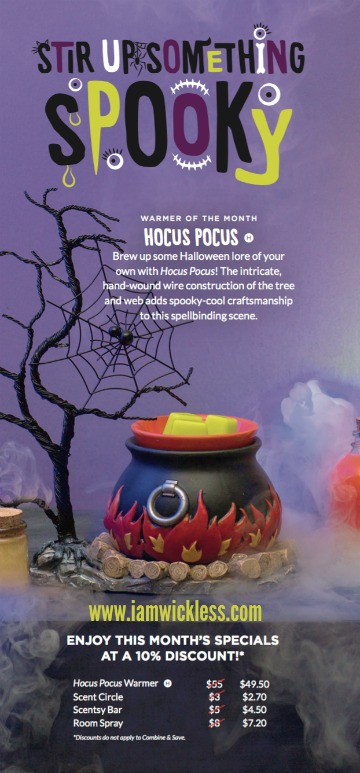 Hocus Pocus Scentsy® Warmer Review