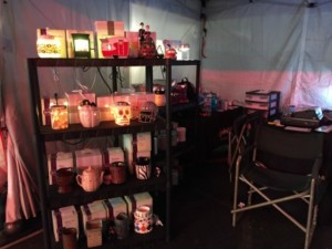 Circleville Pumpkin Show 2016 Scentsy Booth IamWickless