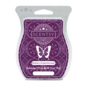 Blackberry Orange Marmalade Scentsy Bar Refill