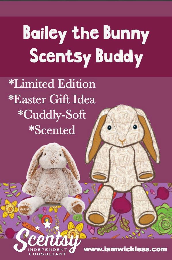 8f45a30a0c74e Bailey The Bunny Scentsy Buddy Pinterest