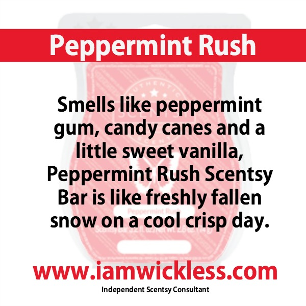 Peppermint Rush Scentsy Bar Refill Online