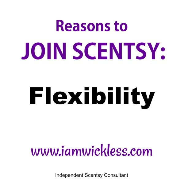 Reasons To Join Scentsy Flexibility
