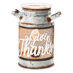 Give Thanks Milk Can